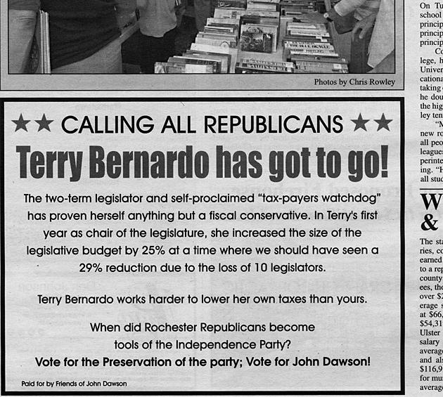 Dump Terry Bernardo Dump Len Bernardo Dump David O'Halloran