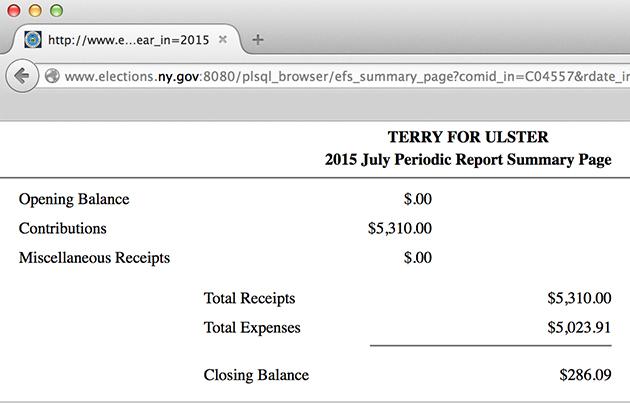 Dump Terry Bernardo